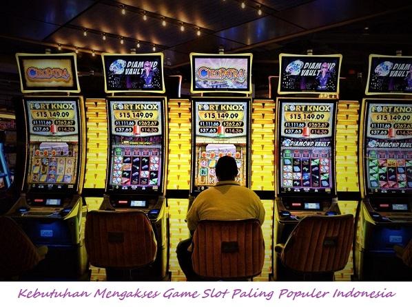 Kebutuhan Mengakses Game Slot Paling Populer Indonesia