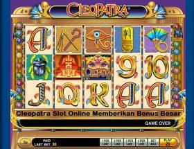 Cleopatra Slot Online Memberikan Bonus Besar
